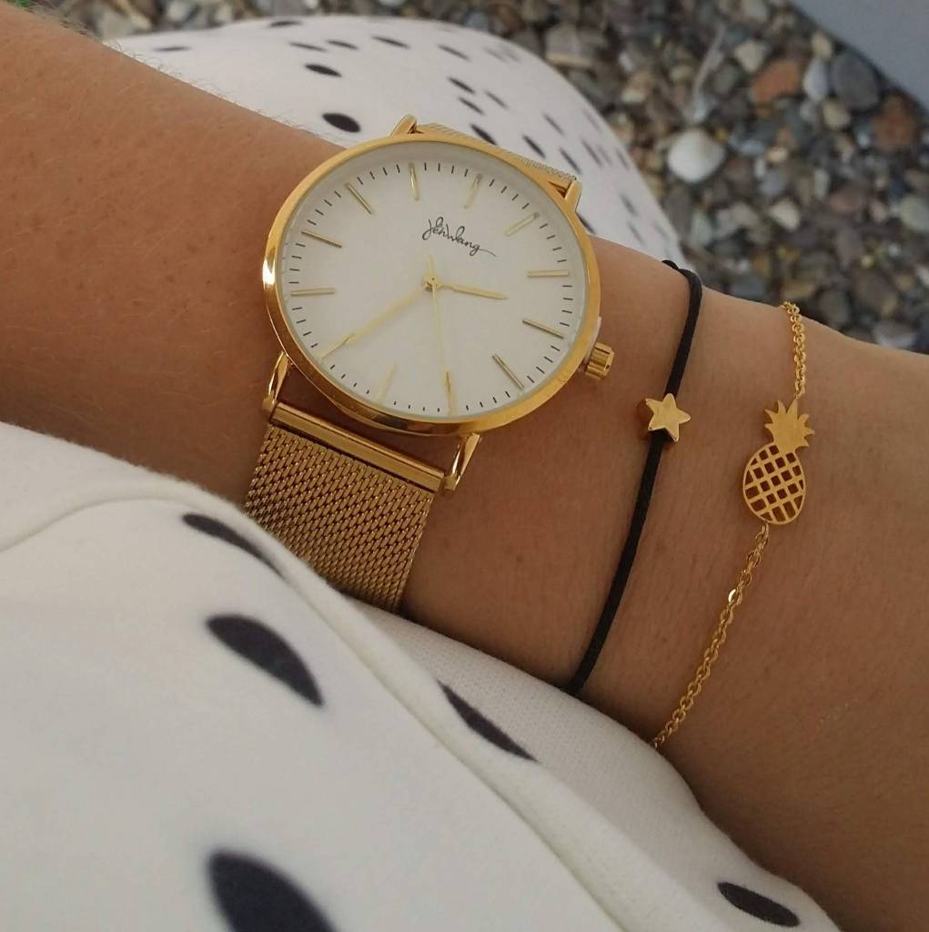 GOLDEN MESH WATCH