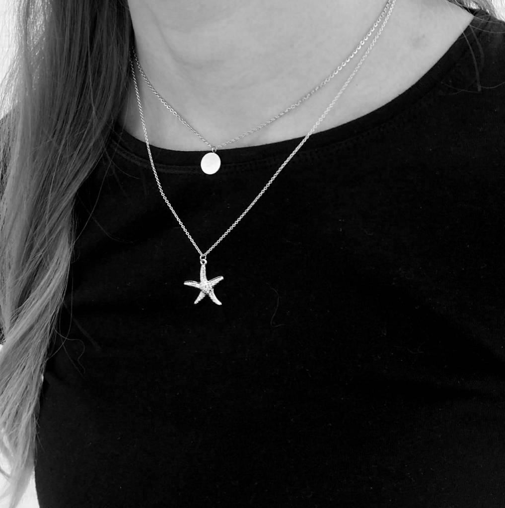 SEASTAR NECKLACE - SILVER