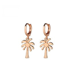 PALMTREE EARRINGS - GOLD