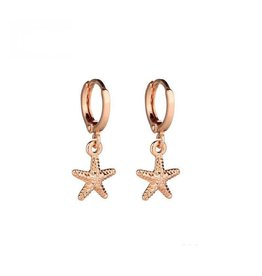 SEASTAR EARRINGS - GOLD