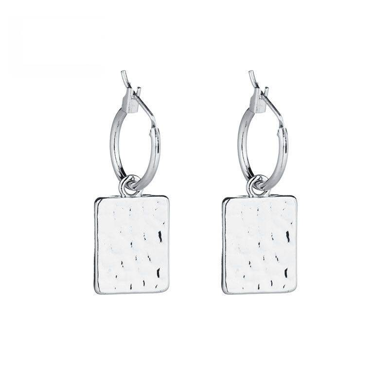 CHARM EARRINGS - SILVER