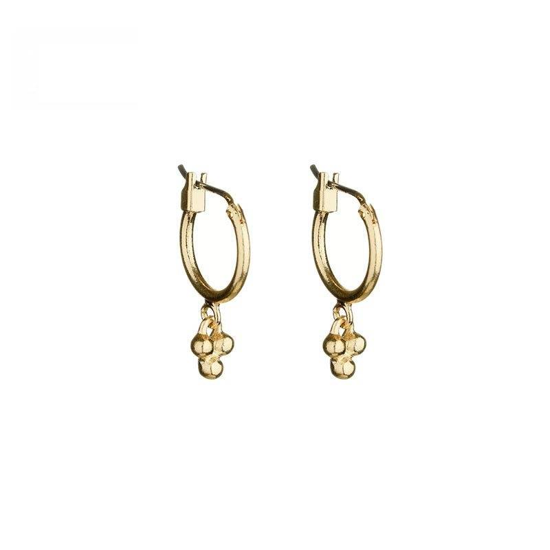 DOTS HOOPS - GOLD