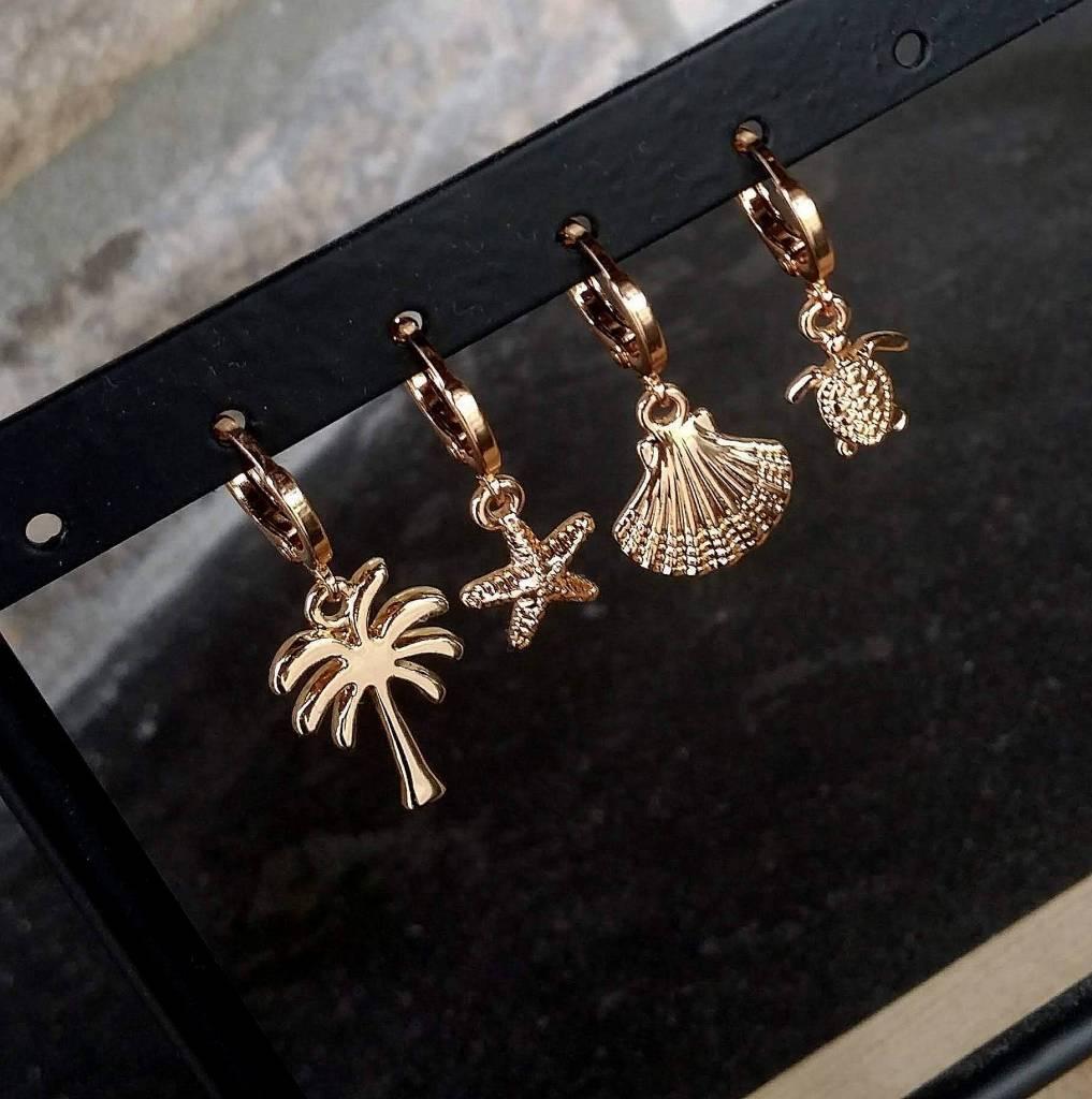 TURTLE EARRINGS - GOLD