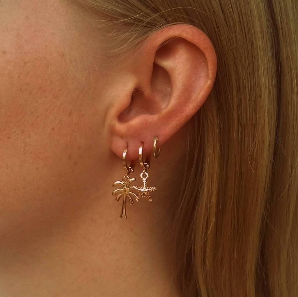 SEASTAR EARRINGS - GOLD