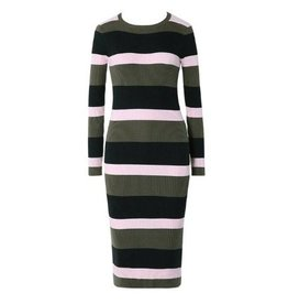 FAY STRIPED DRESS