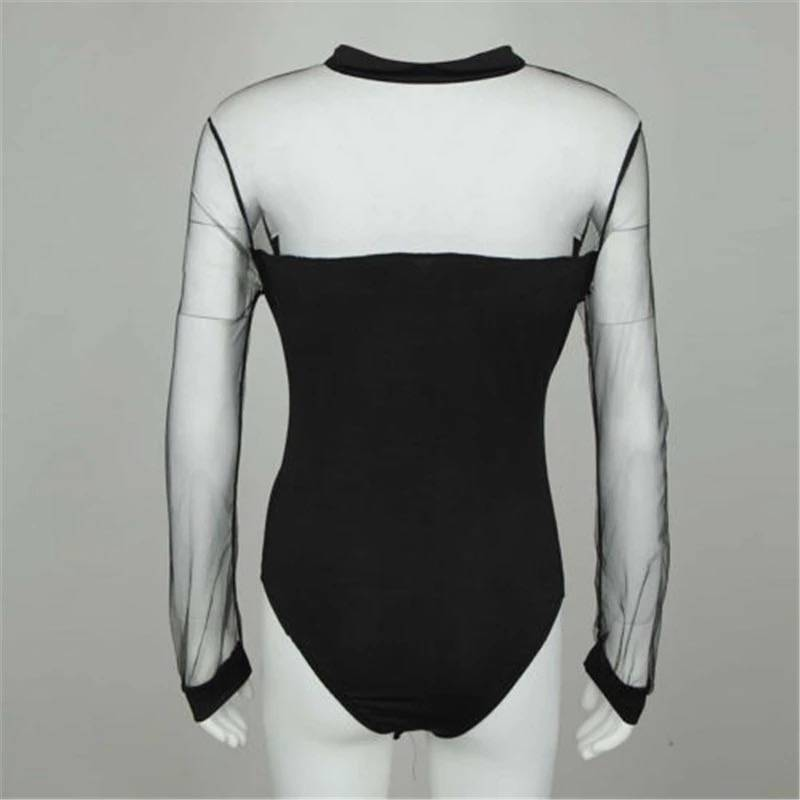 BODYSUIT LISA BLACK