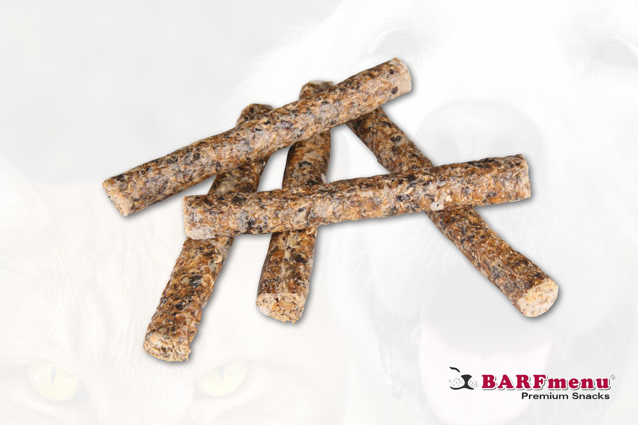 BARFmenu Premium Snack Kabeljauwsticks MSC