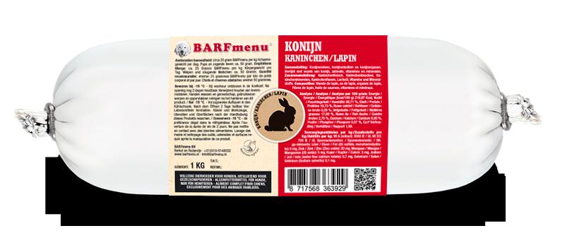BARFmenu® Konijn