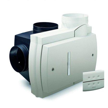 Orcon Orcon Compact 10RHB 360m3/h + vochtsensor + RFT bediening - randaarde stekker