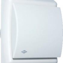 BTV N201T badkamer / toilet kanaalventilator wit 75 m3/h Timer 540-0811N