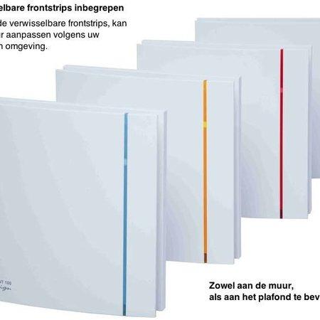 Soler & Palau S&P Silent Design 200 CHZ TIMER + VOCHTSENSOR Badkamer/ toilet ventilator - Ø120mm