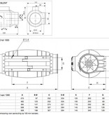 Soler & Palau S&P Buisventilator TD-250/100 Silent aansluitdiameter 100mm