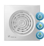 Soler & Palau S&P Silent 100 CHZ TIMER + VOCHTSENSOR Badkamer/ toilet ventilator - Ø100mm