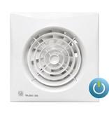 Soler & Palau S&P Silent 200 CZ aan/uit Badkamer/ toilet ventilator -Ø120mm