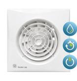 Soler & Palau S&P Silent 200 CHZ TIMER + VOCHTSENSOR Badkamer/ toilet ventilator - Ø120mm