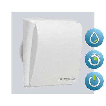 Itho Daalderop Itho Daalderop BTV 303HT badkamer / toilet kanaalventilator wit 75 m3/h Timer + Hygrostaat 540-0931N