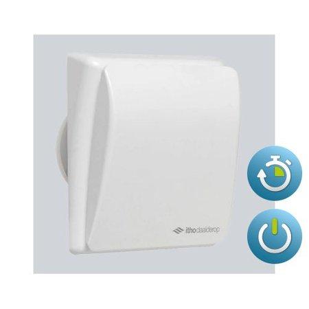 Itho Daalderop Itho Daalderop BTV 301T badkamer / toilet kanaalventilator wit 75 m3/h Timer 540-0911N