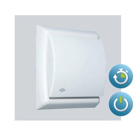 Itho Daalderop Itho Daalderop BTV N211T (MAT ZILVER) badkamer / toilet kanaalventilator 75 m3/h Timer 540-0851N