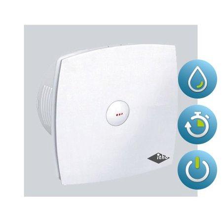 Itho Daalderop Itho Daalderop BTV 400HT badkamer / toilet kanaalventilator wit 78 m3/h Timer en Hygrostaat 342-0030