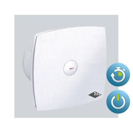 Itho Daalderop Itho Daalderop BTV 400T badkamer / toilet kanaalventilator wit 78 m3/h Timer 342-0020