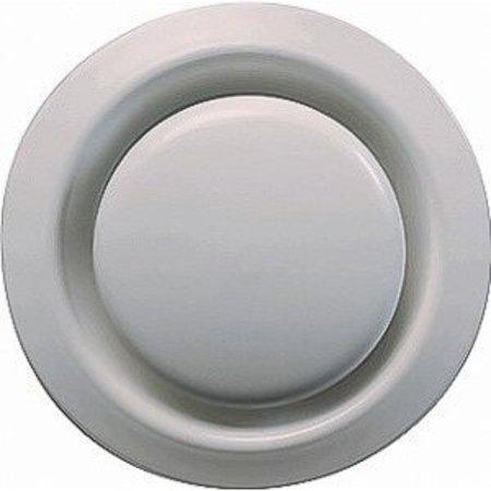 FilterFabriek Huismerk Ventilatie ventiel kunststof rond Ø160mm wit met klemveren