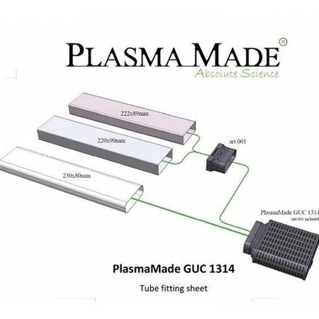Plasmamade Plasmamade luchtfilter  (plintuitvoering)  GUC1314