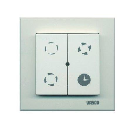 Vasco Vasco C400 Basic RF 400m3/h + RFT bediening - randaarde stekker
