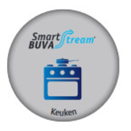 Buva Buva Smartstream Keukenklep 75 m3/h