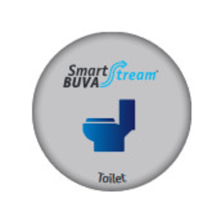 Buva Buva Smartstream Toiletklep incl luchtkwaliteitsensor 25 m3/h