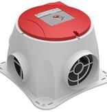Zehnder NU in de aanbieding voor maar 184,- ! Wees er snel bij -  Comfofan S R ventilator + RFT ontvanger - euro stekker - Zehnder Stork