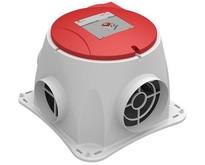 NU in de aanbieding voor maar 184,- ! Wees er snel bij -  Comfofan S R ventilator + RFT ontvanger - euro stekker - Zehnder Stork