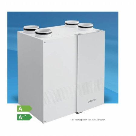 Brink Orcon HealthLine HRC-225 WTW-unit voor kleine ruimtes