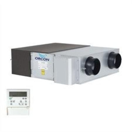 Orcon Orcon WTU-250-EC-E decentrale warmteterugwinunit incl. Regin regeling