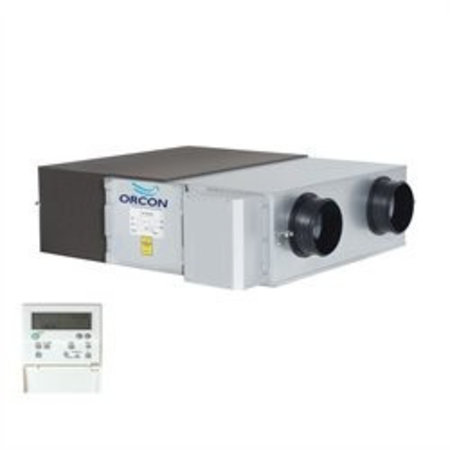 Orcon Orcon WTU-1500-EC-E decentrale warmteterugwinunit incl. Regin regeling