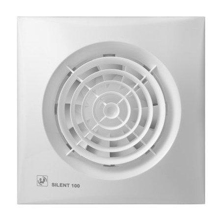 Soler & Palau S&P Silent 100 CZ aan/uit Badkamer/ toilet ventilator - Ø100mm