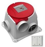 Zehnder Inclusief RFZ zender - Comfofan S RP ventilator perilex