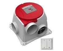 Comfofan S R ventilator + RFT ontvanger - euro stekker - Zehnder Stork -RFZ Zender