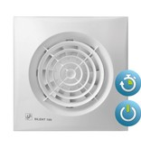 Soler & Palau S&P Silent 100 CMZ aan/uit + trekkoord Badkamer / toilet ventilator -Ø100mm