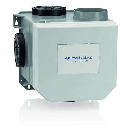 Itho Daalderop Itho Daalderop CVE-S eco fan ventilator box RFT SP + vochtsensor - perilex stekker