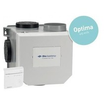 CVE-S eco fan ventilator box alles-in-1 pakket SPI + vochtsensor + RFT spider base + 4 ventielen - perilex stekker & eurostekker