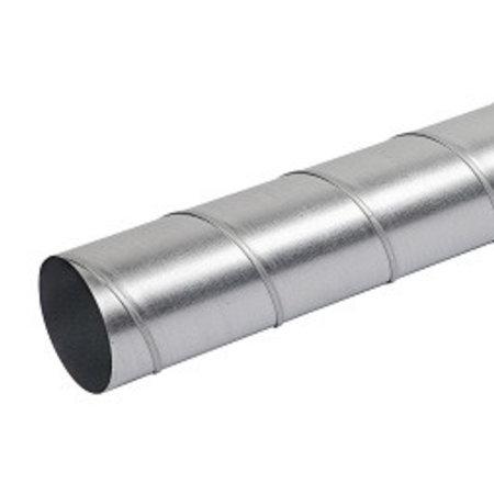 FilterFabriek Huismerk Filterfabriek Huismerk Spirobuis dia 100 mm lengte 1.5 meter - rond gegalvaniseerd