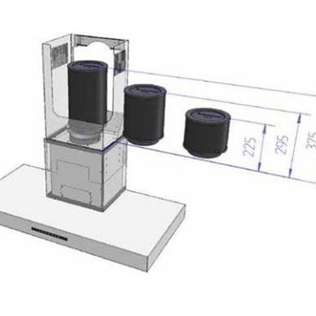Plasmamade Plasma made luchtfilter CA-R150-300
