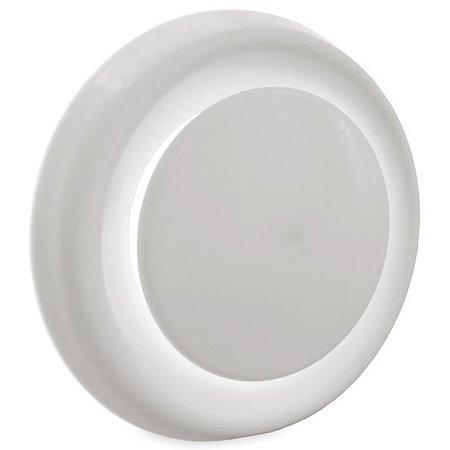 FilterFabriek Huismerk Ventilatie ventiel kunststof rond 125mm wit met klemveren en bus