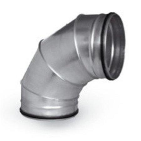 FilterFabriek Huismerk Filterfabriek huismerk Spirobocht 90 graden Ø315mm - Safe