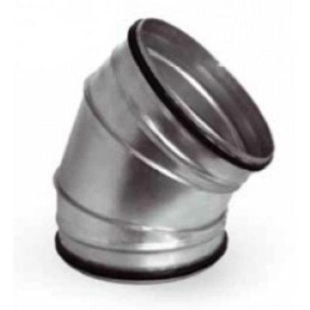 Filterfabriek huismerk Spirobocht 45 graden Ø315mm - Safe