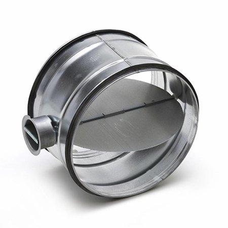 Regelklep Ø125mm handbediend