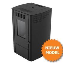 Julia NEXT pelletkachel (opvolger Julia) 7,5 kW zwart (met € 500 subsidie) + 15 kg gratis pellets (meldcode KA03779)
