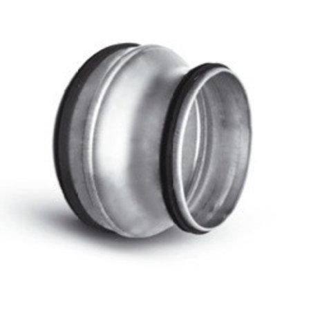 Verloopstuk voor spirobuis Ø150mm naar Ø100mm
