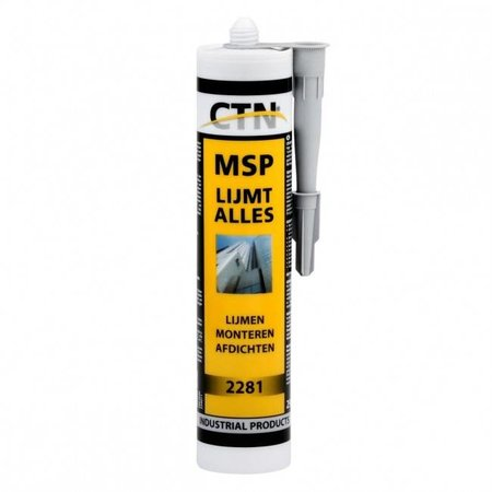 CTN MSP sterk verlijmende kit - WIT