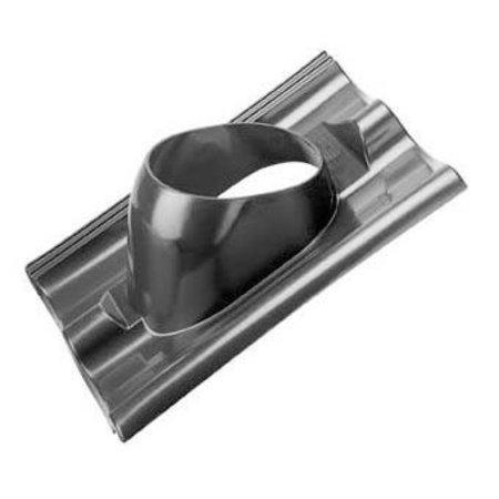 Kunststof dakpan sneldek Ø166mm